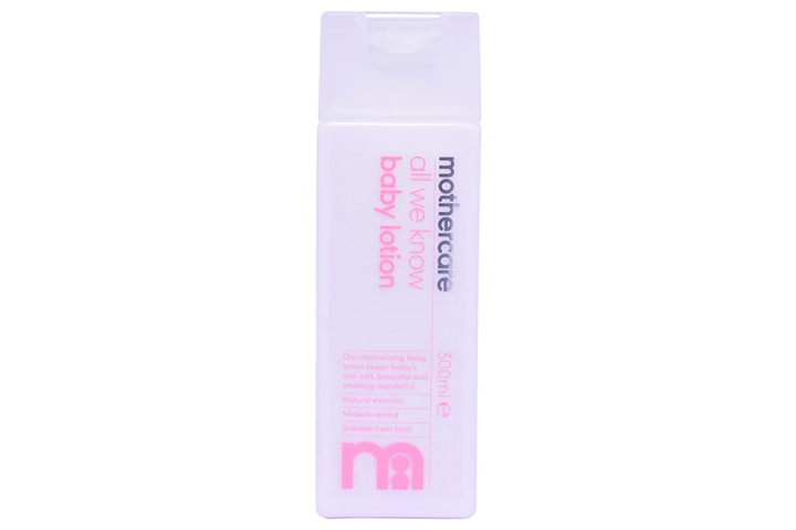 Mothercare All We Know Baby Lotion