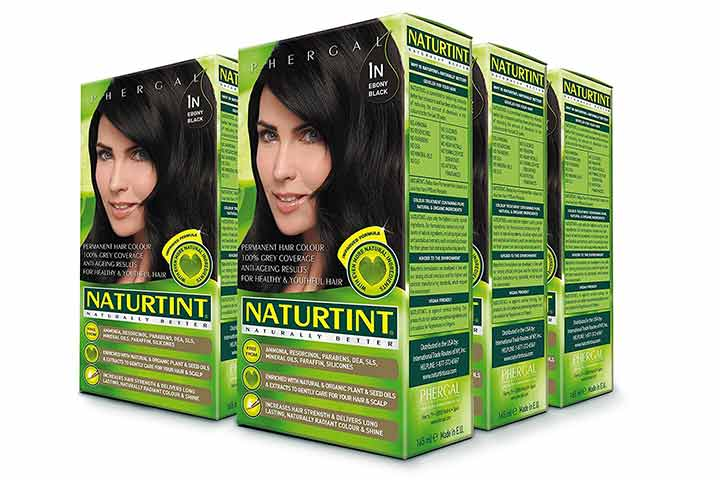 Naturtint Permanent Ebony Black Hair Color