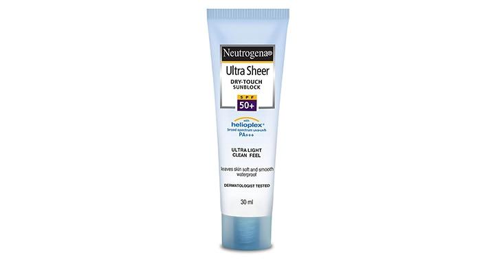 Neutrogena Ultra Sheer Dry-Touch Sunblock SPF