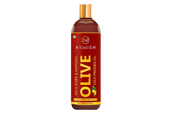 Newish 100 Pure & Natural Cold-Pressed Olive Oil