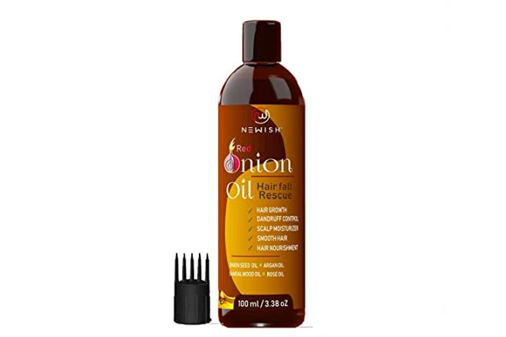 Newish Red Onion Oil
