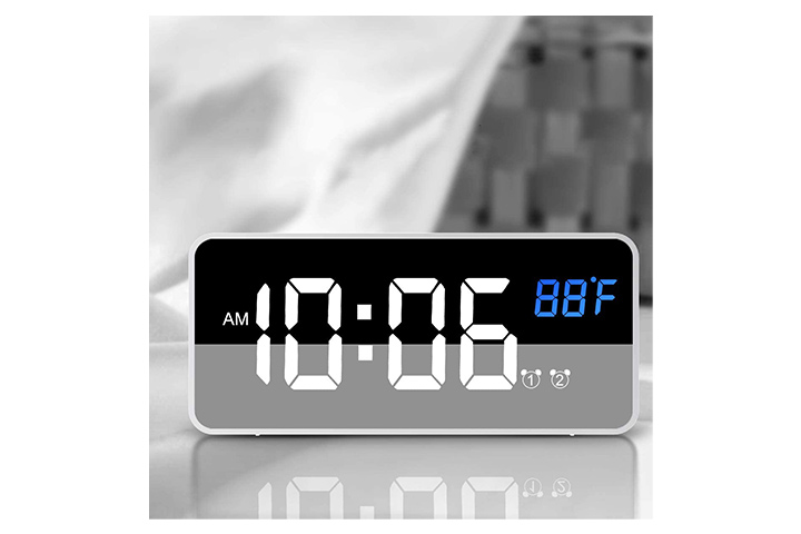 Nicewell Travel Alarm Clock