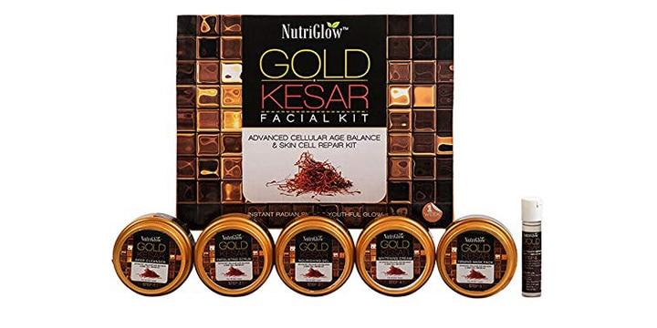 Nutri Glow Gold Kesar Facial Kit