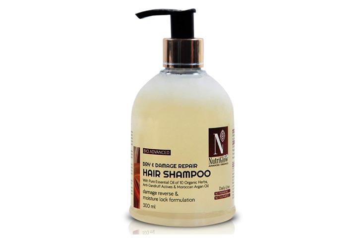 NutriGlow Bio Advanced Dry Damage Repair Hair Shampoo