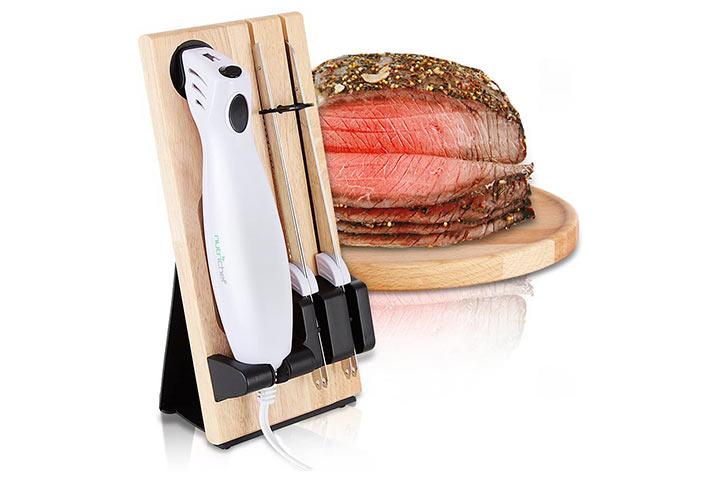 Nutrichef Portable Electrical Knife Set
