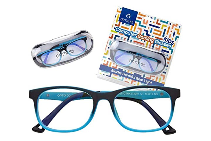 Optix 55 Computer Gaming Glasses For Kids
