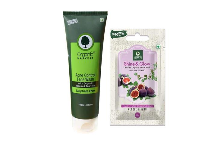 Organic Harvest Acne Control Face Wash