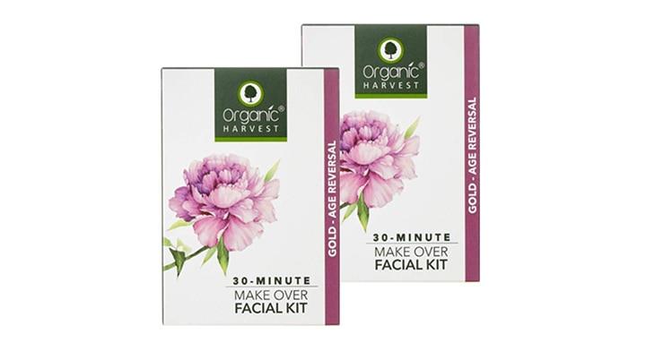 Organic Harvest Gold Age Reversal Facial Kit