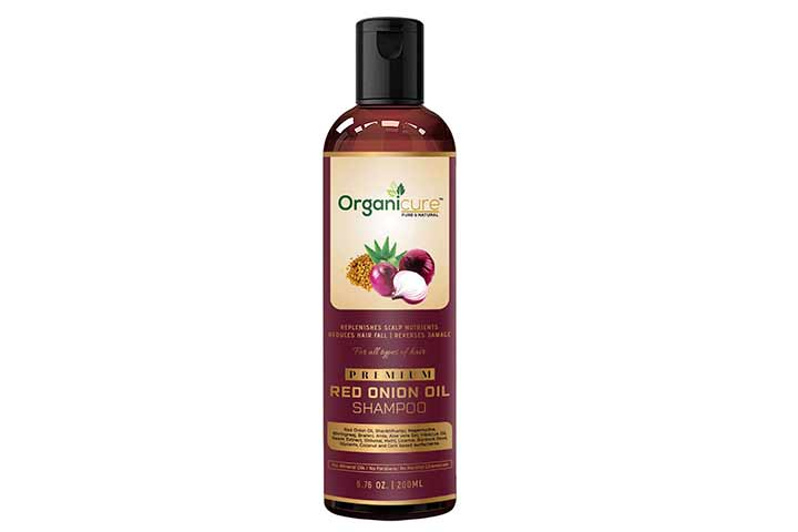 Organicure Natural Red Onion Shampoo