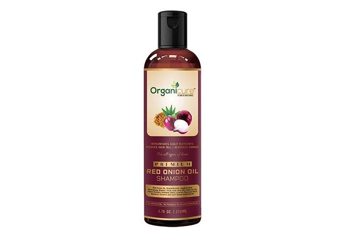 Organicure Red Onion Oil Shampoo