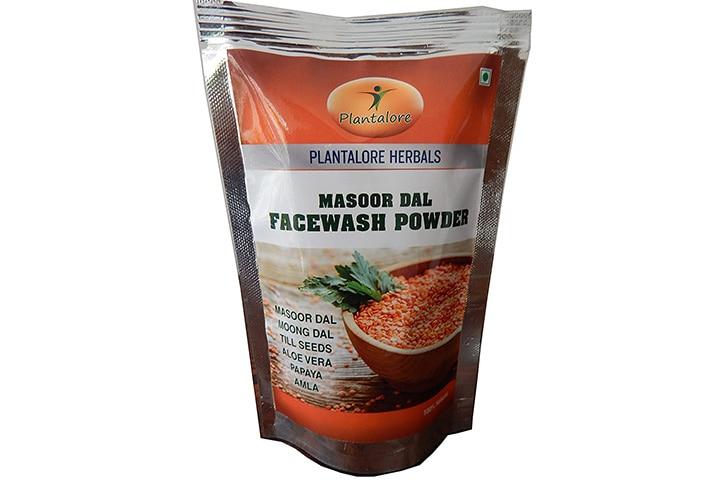 Plantalore Herbals Masoor Dal Face Wash Powder
