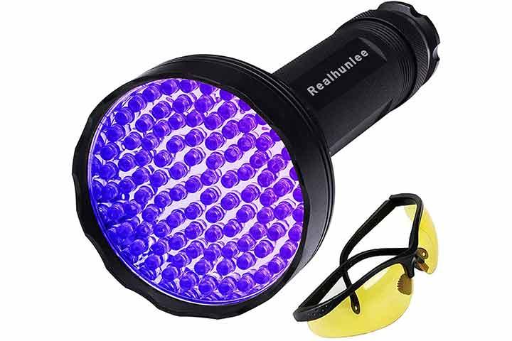 Realhunlee UV Flashlight