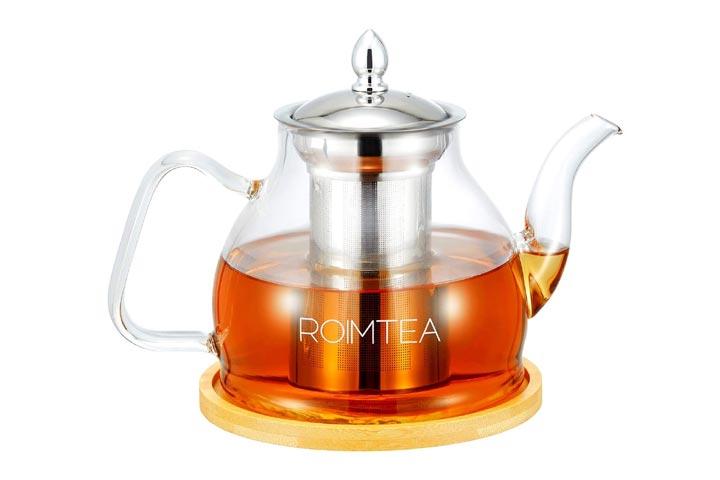 Roimtea 1200 ML Glass Teapot