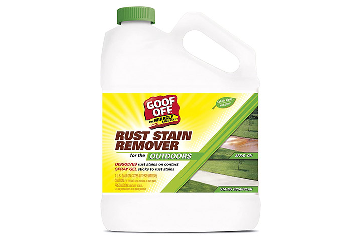 RustAid Goof Off Rust Stain Remover