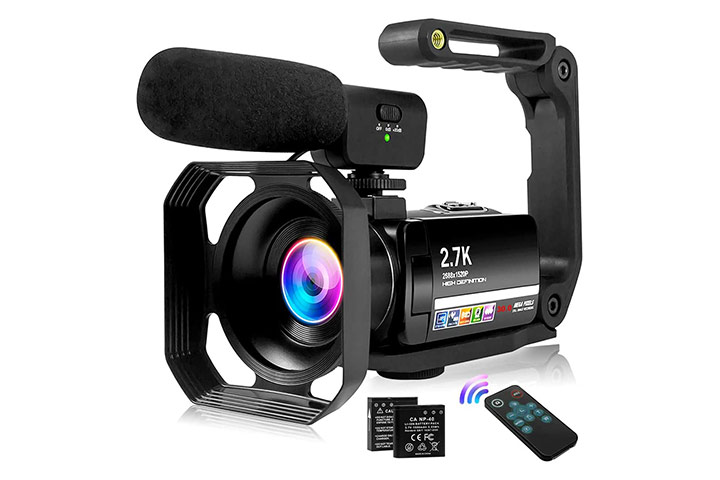 S & P Safe And Perfect 2.7K Vlogging Camera Camcorder