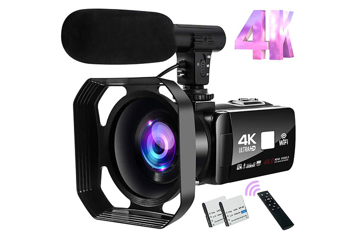 S & P Safe And Perfect 4K Camcorder