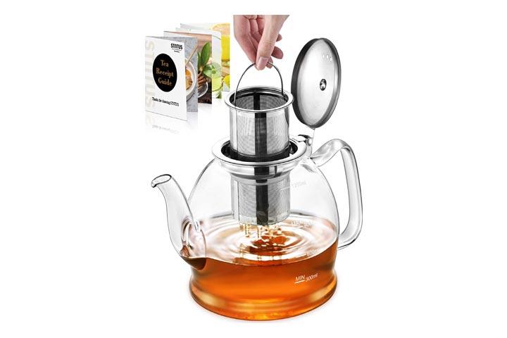 STNTUS Glass Teapot