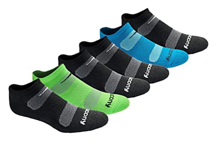 Saucony No-show Socks
