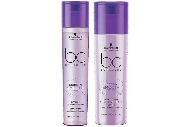 Schwarzkopf Professional Bc Keratin Smooth Micellar Shampoo