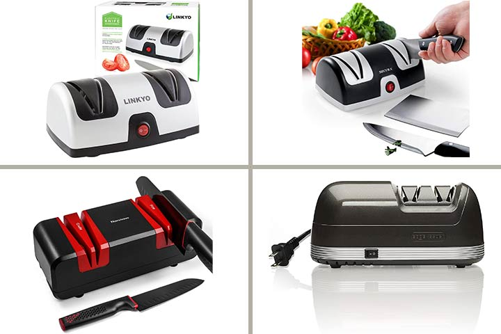 Sharpen Your Kitchen Knives With 11 Best Electric Knife Sharpeners Of 2021