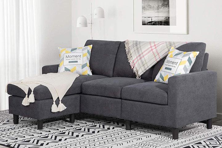 Shintenchi Convertible Sectional Sofa Couch