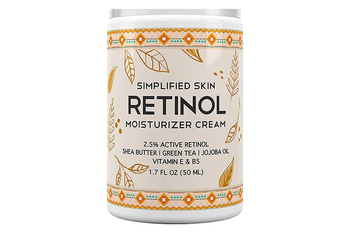 Simplified Skin Retinol Moisturizer Cream