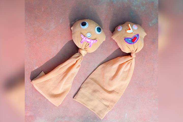 Socks dolls