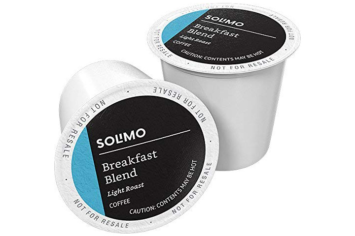 Solimo Store 100 Ct. Light Roast Coffee Pods
