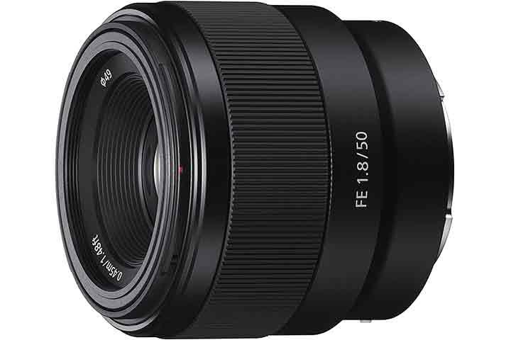 Sony – FE 50mm F1.8 Standard Lens