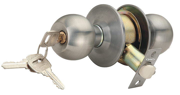 Spider Cylindrical Entrance Latch