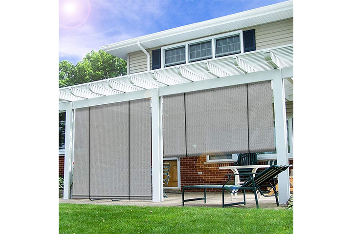 Sunrise Outdoor Rollup Shades Blinds