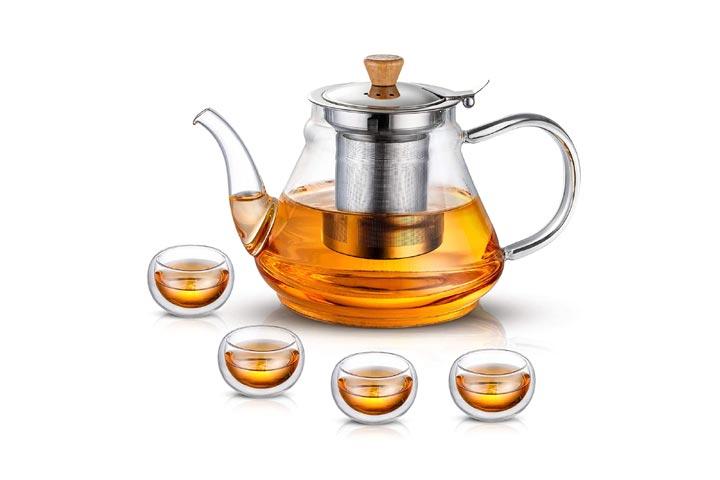 Susteas Glass Teapot