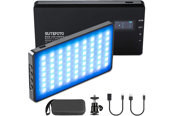 Sutefo to Store LED Video Lights