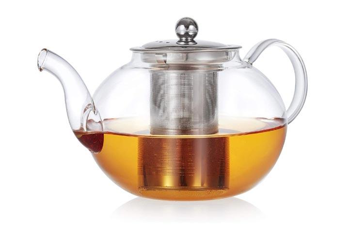 Teabloom Florence Glass Teapot