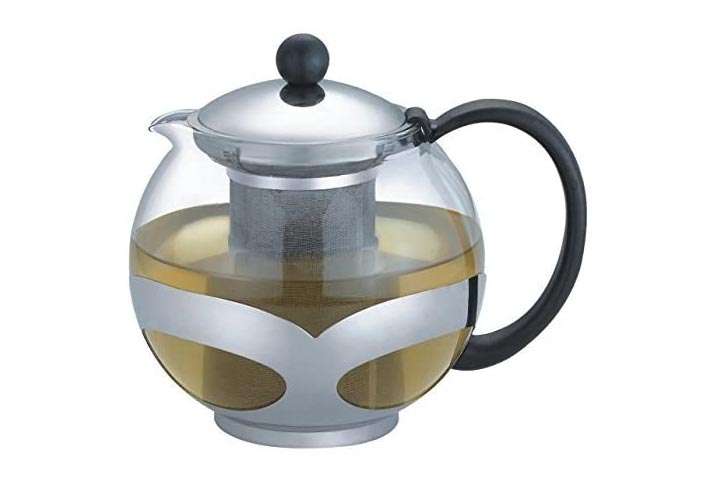 Tempered Glass Teapot