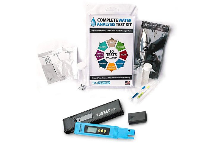 Test Assured Complete Water Analysis Test Kit