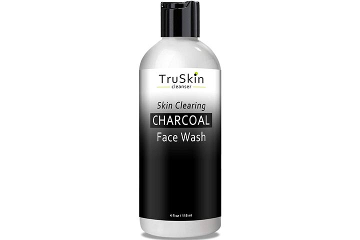 TruSkin Naturals Charcoal Face Wash