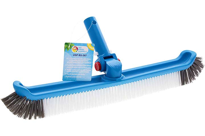 U.S Pool Supply Professional Pool Cleaning Brush