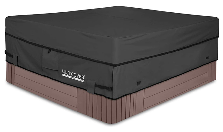 UltCover Waterproof Square Hot Tub Cover