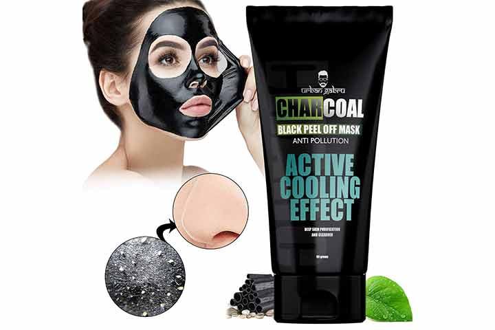 UrbanGabru Charcoal Peel Off Mask