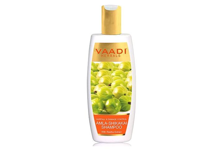 Vaadi Herbals Hairfall & Damage Control Amla-Shikakai Shampoo