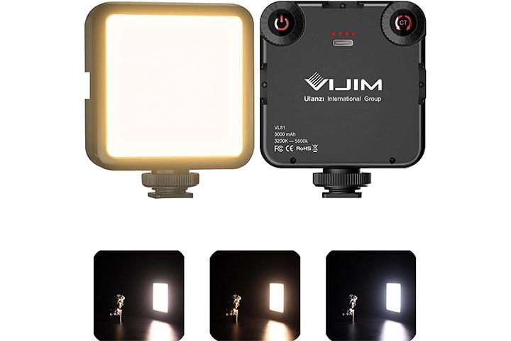 Vijim VL81 On-Camera Video Light