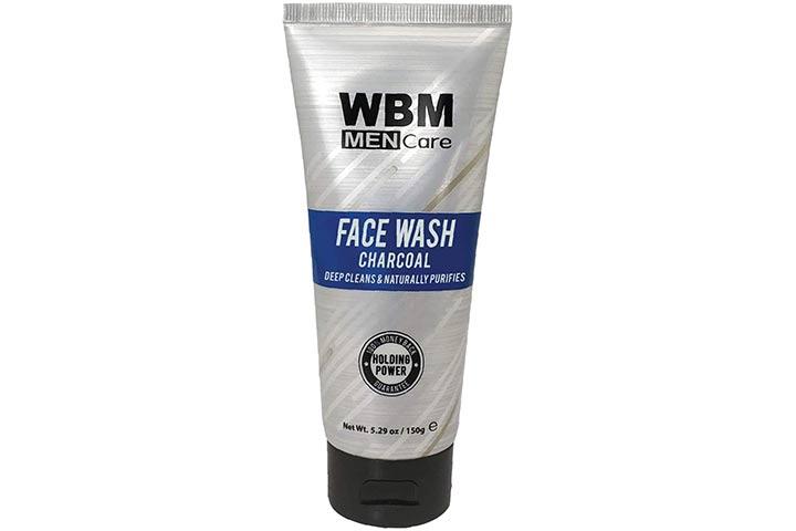WBM Men Care Deep Cleanse Charcoal Face Wash