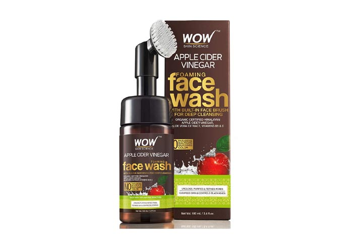 WOW Skin Science Foaming Face Wash