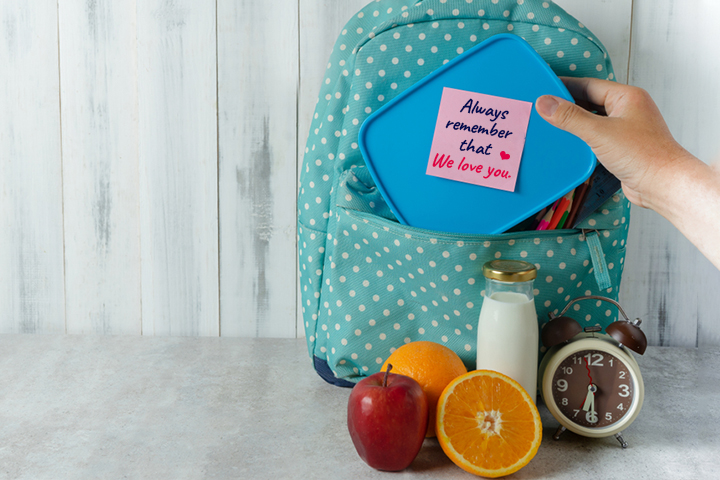 Ways To Write A Lunch Box Note For Your Child