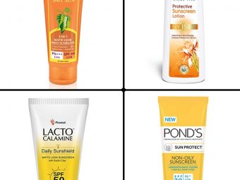 11 Best Sunscreens For Face In India In 2021