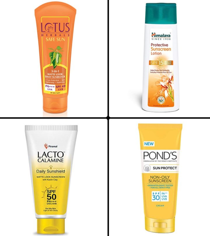 Best Sunscreens For Face In India