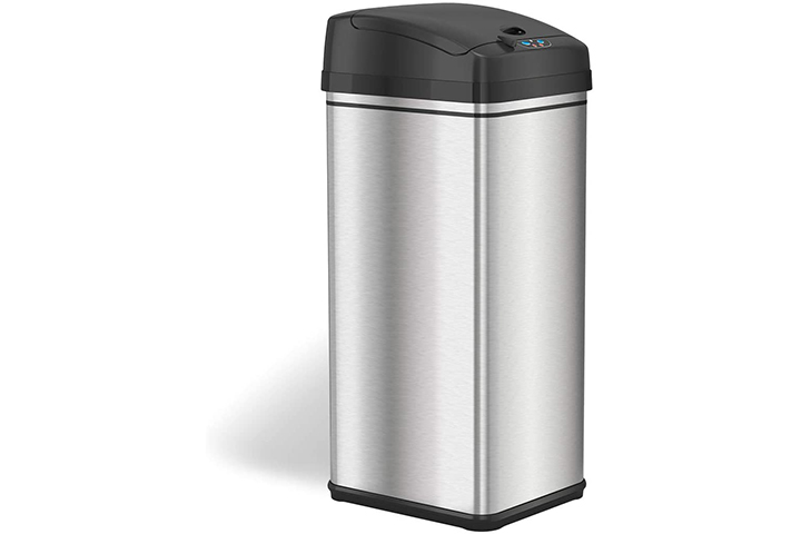 iTouchless Stainless Steel Garbage Can