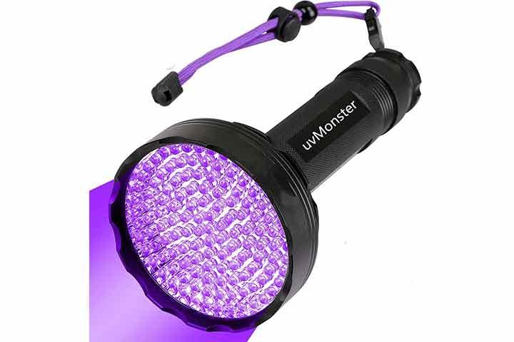 uvMonster UV Blacklight Flashlight