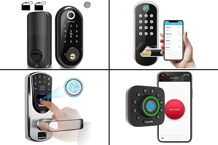 11 Best Biometric Door Locks For Your Safety